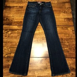 Lucky Brand Sophia Boot Jeans sz 6 Long Inseam 34""